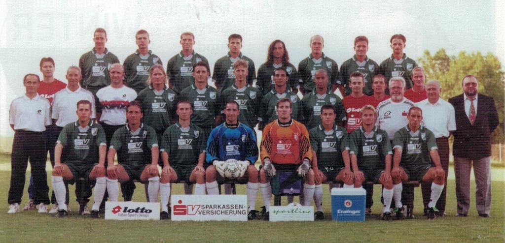 Mannschaftsfoto TSF Ditzingen 97-98