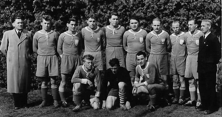 Ein Mannschaftsfoto aus den 1960er Jahren