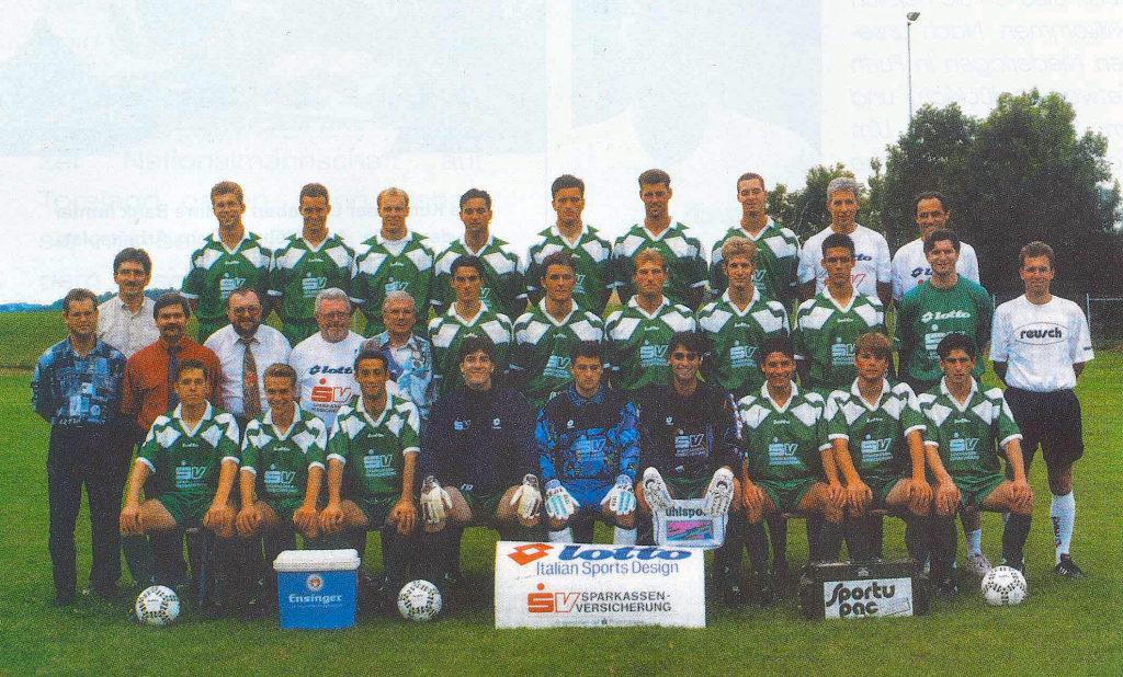 Mannschaftsfoto TSF Ditzingen 95-96