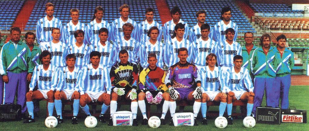Mannschaftsfoto FC Hansa Rostock 1993