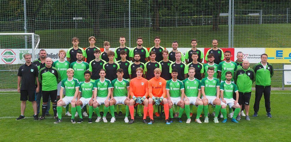 Mannschaftsfoto TSF Ditzingen 2020/2021